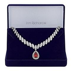 Jon Richard - Peardrop statement necklace