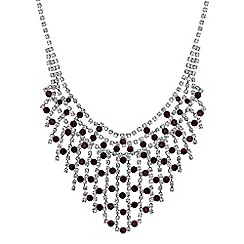 Jon Richard - Crystal diamante collar necklace