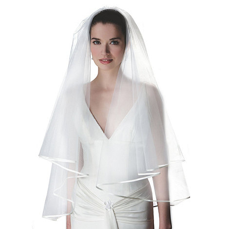 Rainbow Club - Jessamy satin edge veil