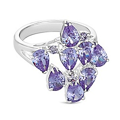 Jon Richard - Cubic zirconia burst ring