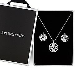 Jon Richard - Silver filigree jewellery set