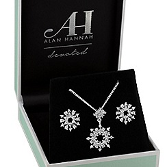 Alan Hannah Devoted - Designer snowflake jewellery set