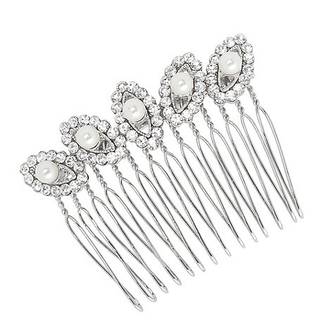 Jon Richard - Lydia pearl hair comb