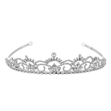 Jon Richard - Diamante crystal baguette tiara