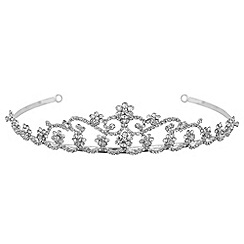 Jon Richard - Diamante crystal daisy tiara