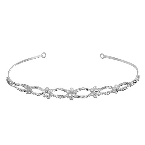 Jon Richard - Crystal daisy pearl headband
