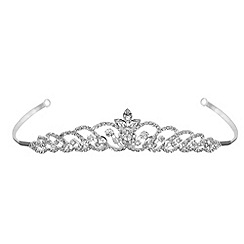 Jon Richard - Navette crystal loop tiara