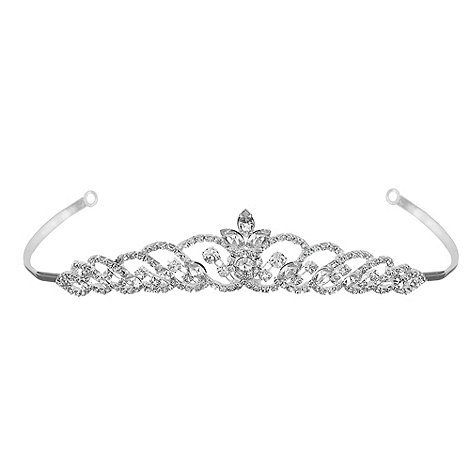 Jon Richard - Navette crystal loop tiara