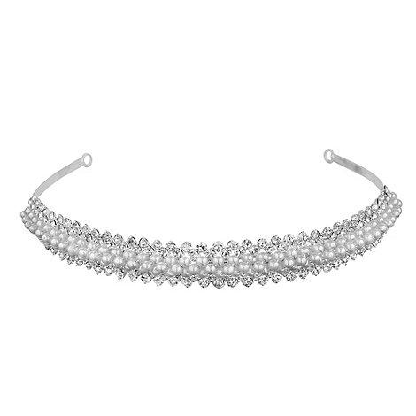 Jon Richard - Pearl and crystal headband