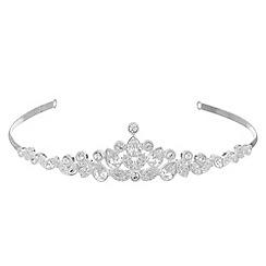 Alan Hannah Devoted - Pave crystal navette tiara