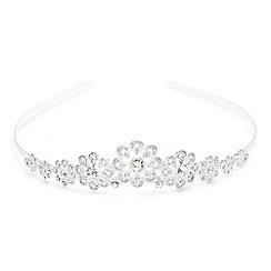 Alan Hannah Devoted - Sparkling crystal filigree flower tiara