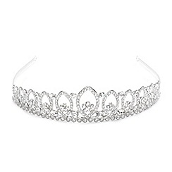 Jon Richard - Vintage pave crystal multi loop tiara