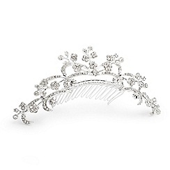 Jon Richard - Vine crystal mini crown