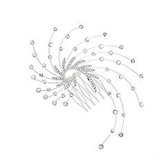 Jon Richard - Crystal swirl starburst hair comb