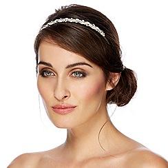 Alan Hannah Devoted - Designer pearl and crystal navette headband
