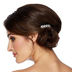 Jon Richard - Crystal flower hair comb