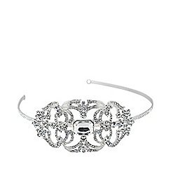 Jon Richard - Catherine crystal stone centre headband