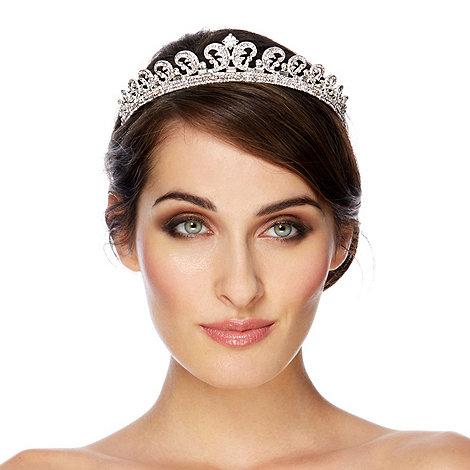 Jon Richard - Statement regal inspired crystal embellished tiara