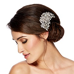 Jon Richard - Online exclusive floral multi stone hair comb