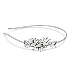 Jon Richard - Online exclusive opalescent stone motif headband