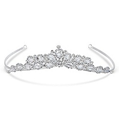 Jon Richard - Crystal embellished tiara made with SWAROVSKI ELEMENTS