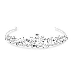 Jon Richard - Filigree crystal embellished vine tiara