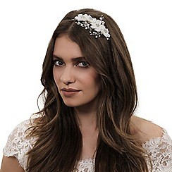 Alan Hannah Devoted - Designer primrose silk flower headband