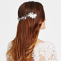 Alan Hannah Devoted - Designer primrose silk flower wrap around head piece
