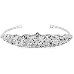 Jon Richard - Online exclusive crystal bead wave tiara MADE WITH SWAROVSKI ELEMENTS