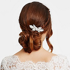 Jon Richard - Online exclusive crystal bow hair comb