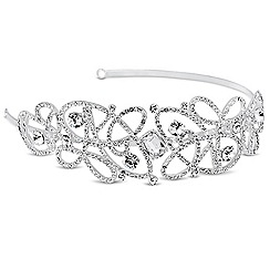 Alan Hannah Devoted - Designer crystal embellished swirl headband