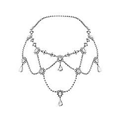 Jon Richard - Diamante and crystal hair chain