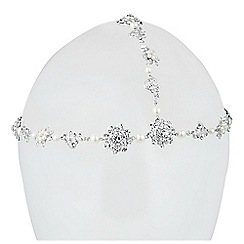 Jon Richard - Pearl and crystal embellished hair tikka