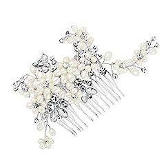 Alan Hannah Devoted - Designer pearl blossom wrap hair comb
