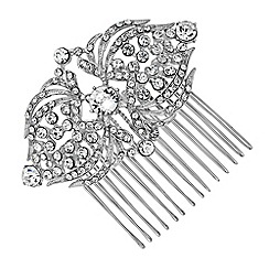 Jon Richard - Crystal statement hair comb