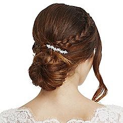 Alan Hannah Devoted - Rose gold crystal flower hair clip
