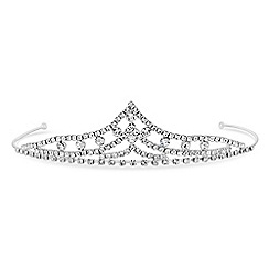 Jon Richard - Childrens diamante point tiara