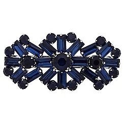 Jon Richard - Blue crystal statement hair clip