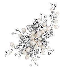 Alan Hannah Devoted - Designer freshwater pearl spray hair clip
