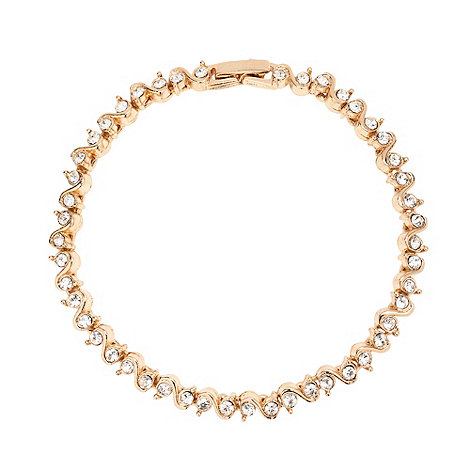 Jon Richard - S style crystal bracelet