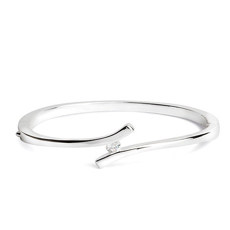 Jon Richard - Curve crystal bangle