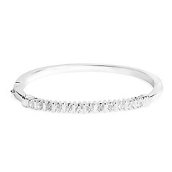 Jon Richard - Crystal bar solid bangle