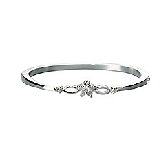 Jon Richard - Bloom solid bangle