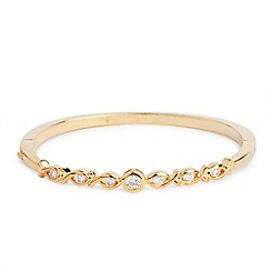Jon Richard - Spiral solid bangle