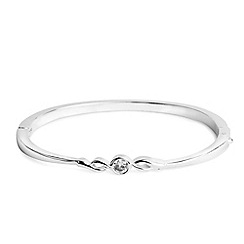 Jon Richard - Twist solid bangle