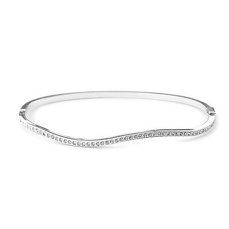 Jon Richard - Wavy crystal bangle