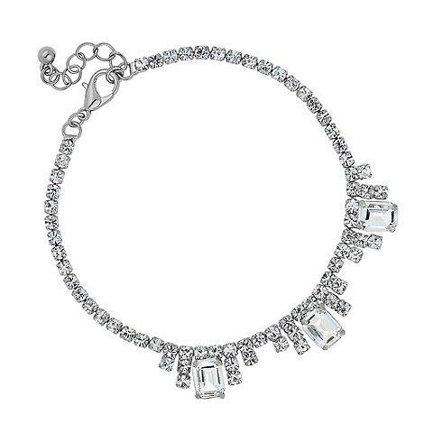 Jon Richard - Catherine diamante baguette bracelet
