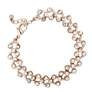 Online exclusive crossover rose gold bracelet