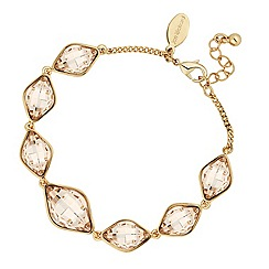 Jon Richard - Light silk lemon fancy stone bracelet made with SWAROVSKI ELEMENTS