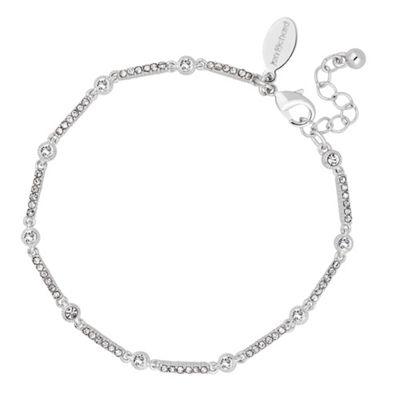 Alan Hannah Devoted Designer crystal bar link bracelet - . -